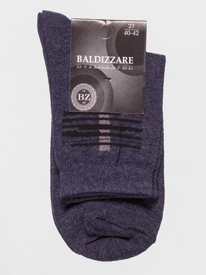 Шкарпетки сині з малюнком | 4590746