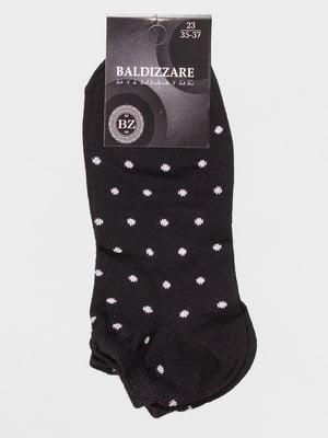 Носки черные в горошек   4590653