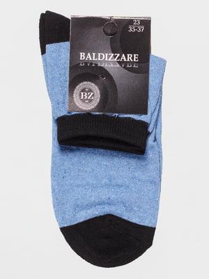 Шкарпетки двоколірні | 4590689