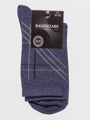 Носки синие с рисунком   4590717
