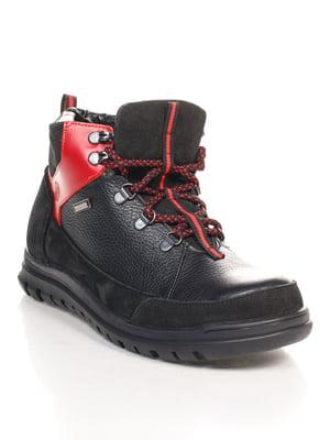 Ботинки красно-черные | 4547813