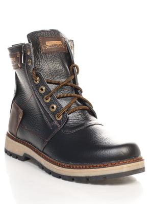 Черевики темно-коричневі   4547806