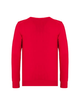 Пуловер красный | 4625383
