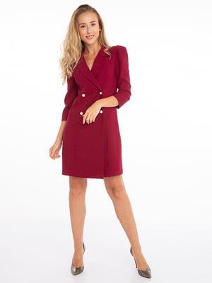 Сукня бордова | 4625608