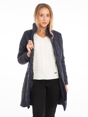 Пальто синее | 4625624