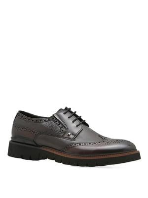Туфли коричневые | 4621857