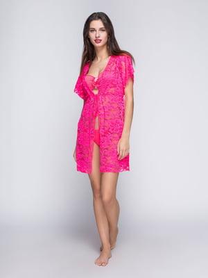 Туника розовая пляжная | 4611236