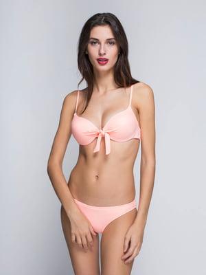 Купальник персикового кольору | 4611096