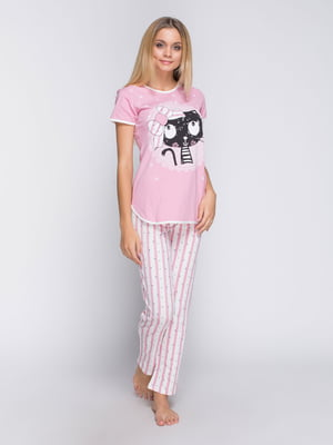 Пижама: футболка и брюки | 4611304