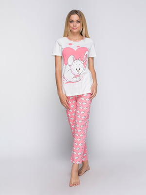 Пижама: футболка и брюки | 4611307