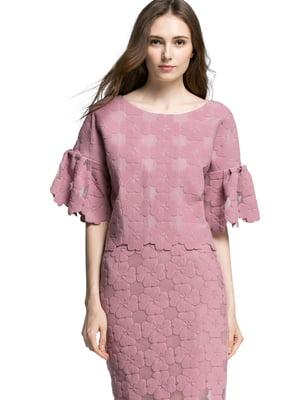 Блуза светло-розовая | 4507555