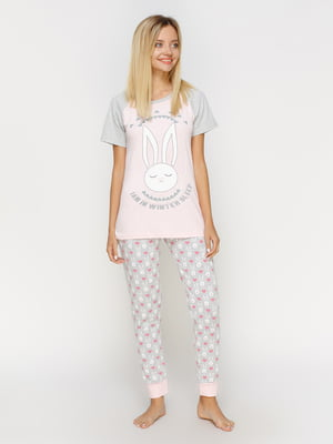 Пижама: футболка и брюки | 4611316