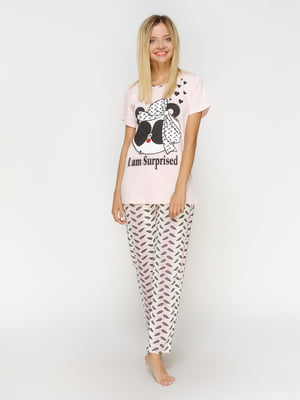 Пижама: футболка и брюки | 4611311