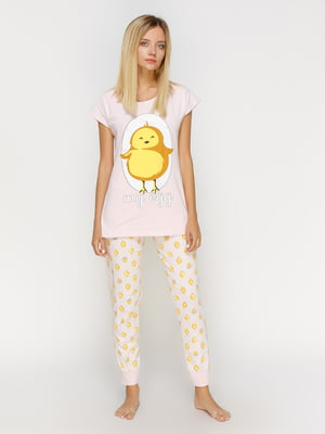 Пижама: футболка и брюки | 4611315