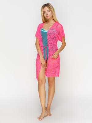 Туніка рожева пляжна | 4611230