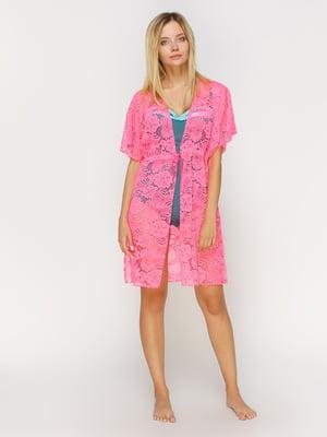 Туніка рожева пляжна | 4611233