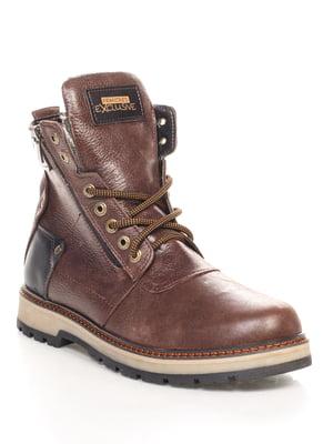 Черевики коричневі   4547804