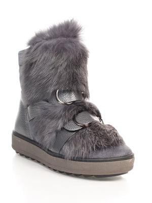 Ботинки серые | 4618967