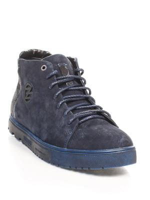 Ботинки синие | 4547814