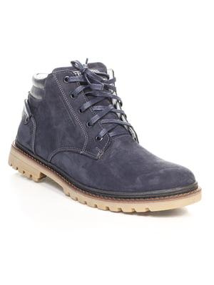 Ботинки темно-синие | 4618926