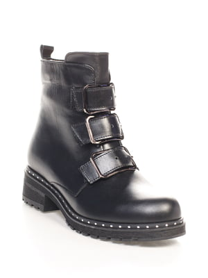 Ботинки черные | 4618947