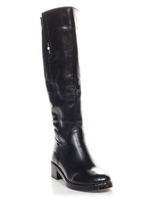 Сапоги черные | 4626730