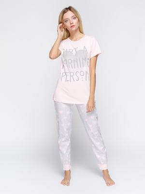 Пижама: футболка и брюки | 4611310