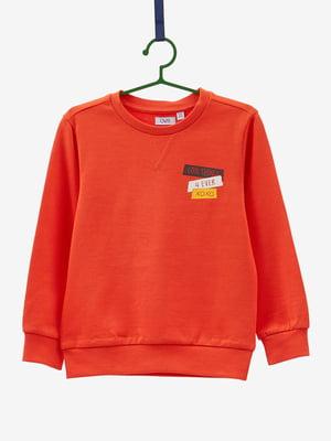 Світшот помаранчевий | 4603818