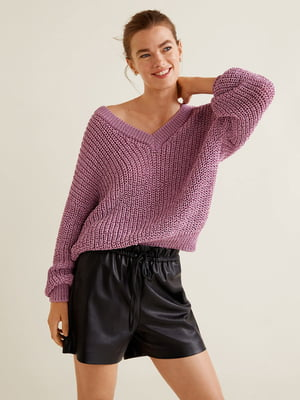 Пуловер рожевий | 4549084