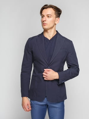 Пиджак темно-синий | 4602123