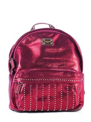 Рюкзак темно-червоний | 4630873