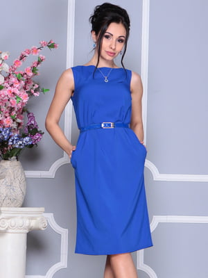Платье цвета электрик | 4619666