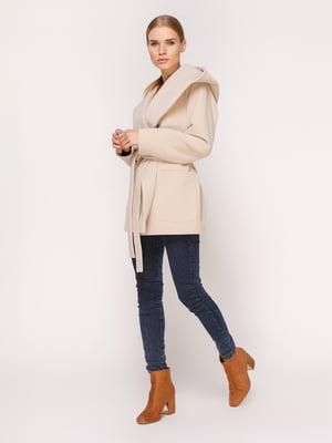 Пальто светло-бежевое | 4631554