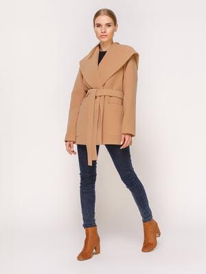 Пальто бежевое | 4631555