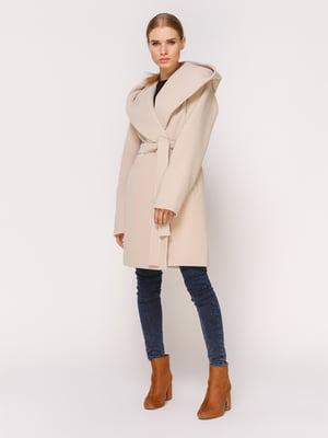 Пальто светло-бежевое | 4631558