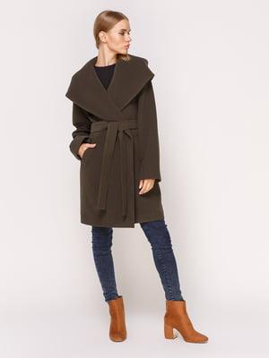 Пальто зелене   4631560