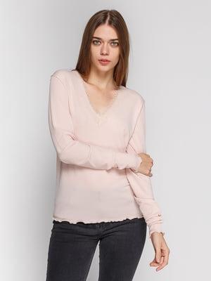 Пуловер светло-розовый   4596937