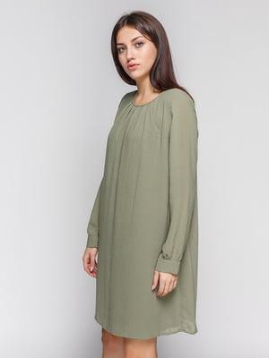 Сукня кольору хакі | 4614205