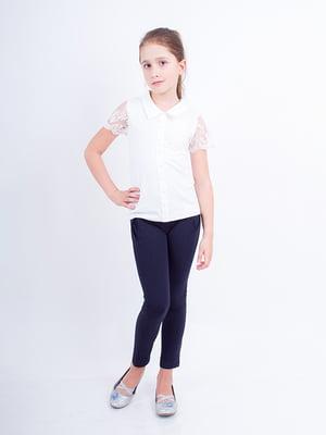 Блуза молочного цвета | 4328291