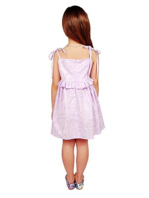Платье сиреневое | 4489834