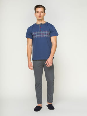 Пижама: футболка и брюки | 4611283