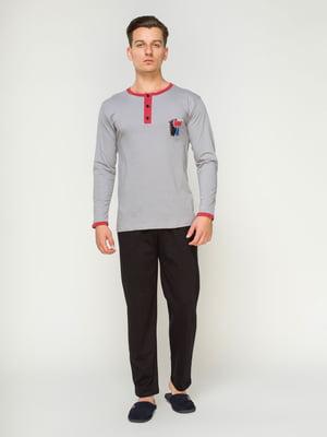 Пижама: джемпер и брюки | 4611253