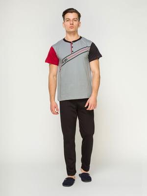 Пижама: футболка и брюки | 4611294