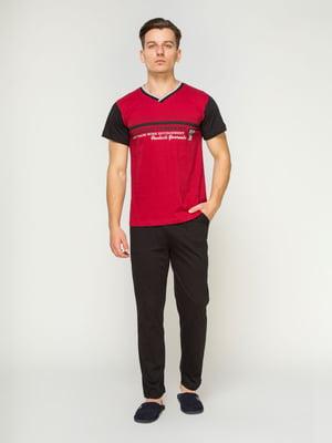 Пижама: футболка и брюки | 4611296