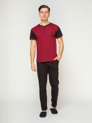 Пижама: футболка и брюки | 4611274