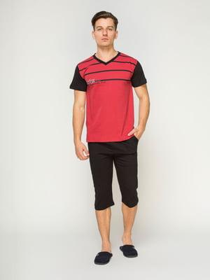 Пижама: футболка и бриджи | 4611270