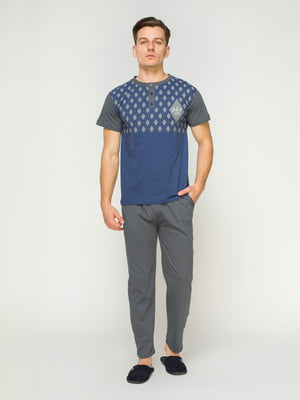 Пижама: футболка и брюки | 4611303