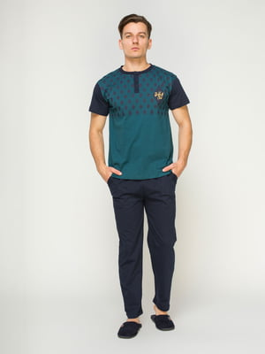 Піжама: футболка і штани | 4611302