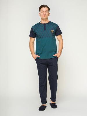 Пижама: футболка и брюки | 4611302