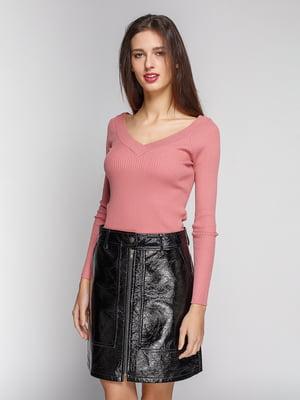 Пуловер розовый   4599857